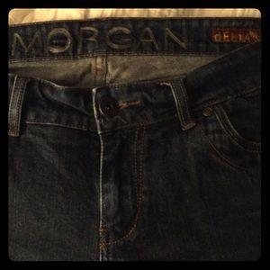 Morgan brand blue jeans 👖 13/14 stretchy denim